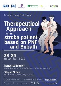 Therapeutical Approach stroke parient based on PNF and Bobath